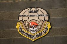 ISAF AFSOC DEATH FROM ABOVE VeIcrọ SSI MORALE PATCH: TACP COMBAT CONTROLLER