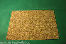 3mm Nitrile (NBR) Cork Rectangle 300mm x 200mm Pack of 1