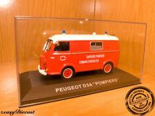 PEUGEOT D3A 1:43 FIRE TRUCK - POMPIERS COMMUNE D'OUROUX