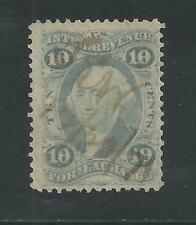 R35e (Ultramarine) 10 Cents Foreign Exchange Used