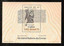 BRAZIL # 1308 MNH ST. GABRIEL AND PROCLAIMATION OF POPE PAUL VI