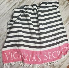 Victorias Secret Striped Beach Blanket Towel