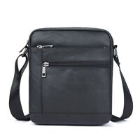 Male Leather Crossbody Bags Men's Messenger Bag Shoulder Bag Men Genuine Leather