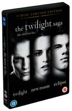 The Twilight Saga Trilogy (DVD-2010,3-Disc Limited Edition/STEEL-BOOK) Region 2*