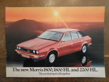 MORRIS 18-22 SERIES orig 1975 UK Mkt Sales Brochure - BL 1800 2200 Princess 3106