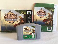 Aidyn Chronicles la primera Mage Nintendo 64 N64 JUEGO COMPLETO PAL