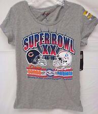 Chicago Bears Women's G-III 4her M Super Bowl 50 Throw back Tee Shirt