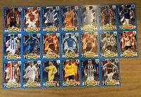 MATCH ATTAX EXTRA 2017/18 FULL SET OF ALL 20 CAPTAIN CARDS MTC1-MTC20
