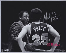 "UDA UPPER DECK ""COACH AND I"" 8x10 AUTO: MARK PRICE - AUTOGRAPH W/ LENNY WILKENS"
