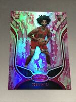 2019-20 Panini Certified Coby White Pink Camo Mirror Rookie /25 Chicago Bulls 🔥