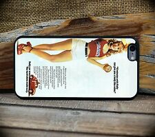 Vintage 1970's Rally Car Wax PinUp  - iPhone 6 or 6S+ custom case