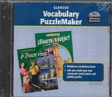 IBUEN VIAJE! - LEVEL 2 - GLENCOE VOCABULARY PUZZLEMAKER - CD-ROM