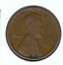 1934 Philadelphia Circulated Copper Lincoln One Cent Coin!