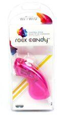 PDP Rock Candy Nunchuck Controlador de movimiento: Rosa para Nintendo Wii/Wii U