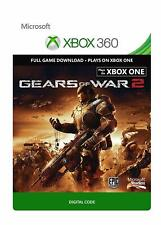 Gears of War 2 Digital Download Code Key Xbox 360 & XBOX One GOW2 Epic Games