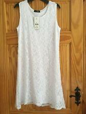 White lace dress -size 12/14