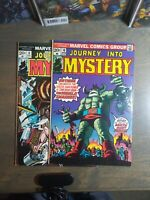 Journey Into Mystery 2 book lot #8,10  FN-VG Vol.2  1973/1974   Marvel Comics