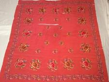 2 BEAUTIFUL VINTAGE EARLY 20th c CHINESE EMBROIDERED SILK PANELS FINE EMBROIDERY