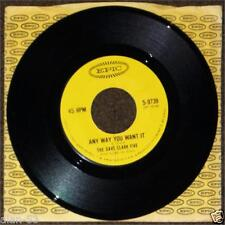"""DAVE CLARK 5 ~ ANY WAY YOU WANT IT Crying Over You ~ 7"""" 45rpm IN ORIGINAL SLEEVE"""