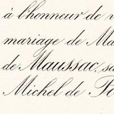Henriette De Maussac Orleans 1884 Delfau De Pontalba