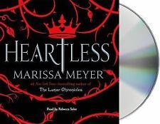 Heartless by Marissa Meyer (2016, CD)