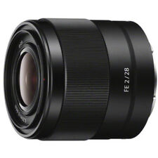 Obiettivi fissa/prima per fotografia e video per Sony