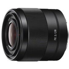 Objetivos gran angular Sony para cámaras