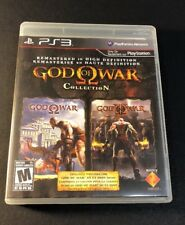 God Of War Collection [ First Print Black Label / God Of War 1 & 2 ] (PS3) USED