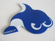 Tauchscheibe Schwimmen Training SPEEDO blau Fisch Delphine ca 22,5 x 20 cm