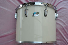 "EXPAND UR DRUM SET 2DAY! RARE 1980 LUDWIG USA 15"" WHITE CORTEX CONCERT TOM! #T75"