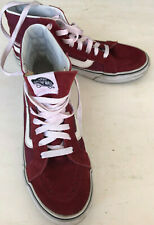 New listing vans authentic hightop size 5 skate board shoes wine color