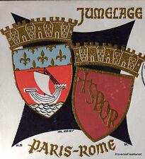 JUMELAGE PARIS ROME    1958 TIMBRE FRANCE  Premier Jour  FDC  Yt 1176