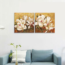 Framed Canvas Print Painting Pictures Home Decor Wall Art Landscape Flowers