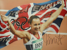 JESSICA ENNIS In Person signed 16x12 Photo OLYMPIC Heptathlon GOLD MEDALIST COA