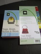 "Cricut Cartridge Provo Craft - TAGS, BAGS, BOXES & MORE - 29-0022 + Paper 6""x12"""