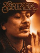 SANTANA 2008 THE ULTIMATE SANTANA TOUR CONCERT PROGRAM BOOK / NEAR MINT 2 MINT