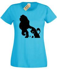 a800677d7c7 LION Silhouette T-Shirt Womens Cub King ladies top Pride