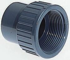 Georg Fischer Straight ABS Adapter, 3/4 in Rp Female x 3/4 in BSP Male