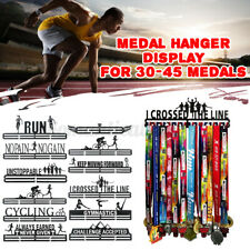 Durable Metal Steel Medal Holder Hanger Display Rack Ideal Gift Swimming Flying