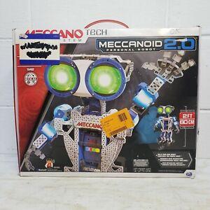 Meccano Meccanoid 2.0 Personal Robot 16402 OPEN BOX *NEW*