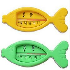 Lovely Plastic Fish Float Floating Toy Baby Bath Tub Water Sensor Thermometer