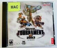 Unreal Tournament 2003 CD-ROM for Mac Macintosh with Case & Manual by Atari Epic