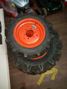 Kubota R1181 Tractor agriculture wheels