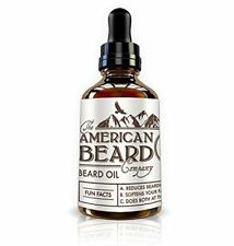 Beard Oil Tonic Growth Serum Organic Leave-in Conditioner Facial Hair Whiskers
