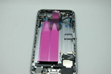 iPhone 6 Grau Komplette Akkudeckel, Gehäuse, Back Cover, Ladeanschluss, Tasten