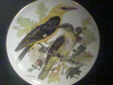 1985 World Wildlife Federation Golden Oriole Pirol Birds Ltd Ed Plate