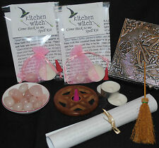 """COME BACK TO ME"" Spell Kit Draw Back a Lover Return Renew Lost Love /Friendship"