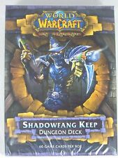 WoW TCG DUNGEON DECK THE SHADOWFANG KEEP INCLUDING 2 HERO CARDS, RULEBOOK, NEW