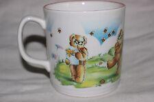 Mug Cup Tasse à café Child Kids Teddy Bee Fine bone china