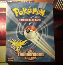 Vintage Pokemon Thunderstorm Gift Box *Empty*